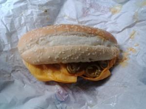 X-TRA Long Chili Cheese Burger am 2 Fresstag