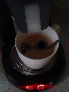 Erst mal einen Kaffee...