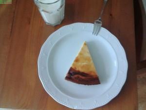 Abendessen: Leckerer Low-Carb Käsekuchen