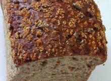 Low Carb Brot halbiert