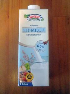 Meine 0,5% fetthaltige Milch