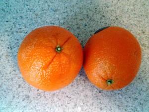 Gut für Smoothies: Orangen