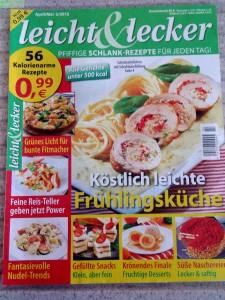 Zeitschrift mit New York Diät Rezepten