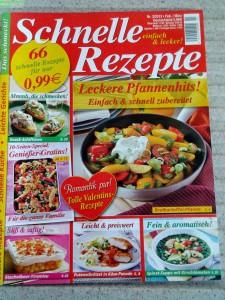 Diät Rezepte Zeitschrift von mir